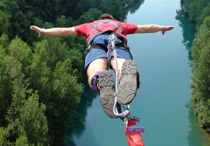 Bungee Jump Jumping Nepal Bhote Koshi Kosi Himalayas Adventure Sport Last Resort