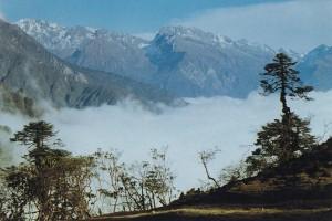 Lapsang Bhanjyang Kanchenjunga Base Camp Trek Nepal Trekking Hike Hiking Himalayas