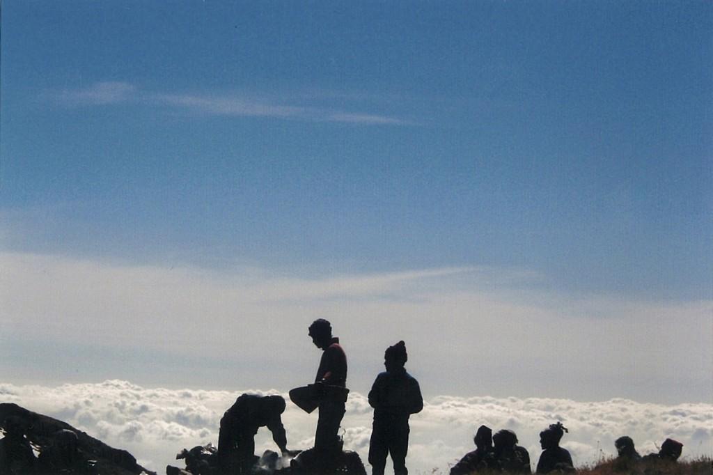 Lapsang Bhanjyang Clouds Kanchenjunga Base Camp Trek Nepal Trekking Hike Hiking Himalayas
