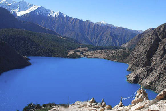 Phoksundo Lake Lower Inner Dolpo Trek Nepal Trekking Hike Hiking Himalayas