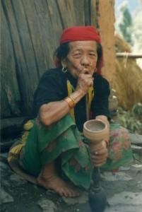 Elderly Lady Woman Upper Dolpo Trek Nepal Trekking Hike Hiking Himalayas