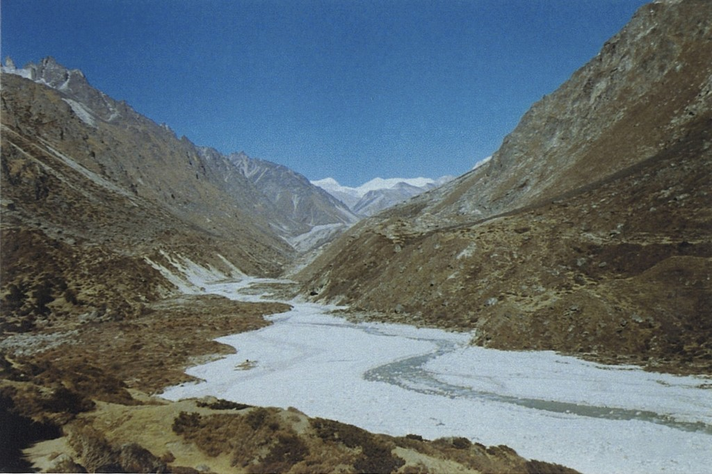 Ghunsa Khola River Kanchenjunga Base Camp Trek Nepal Trekking Hike Hiking Himalayas