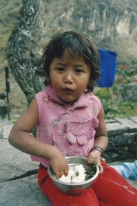Child Tamang Heritage Trail Trek trekking hike hiking nepal