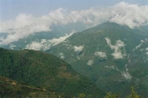 Tamang Heritage Trail Trek trekking hike hiking nepal clouds Himalayan Valley