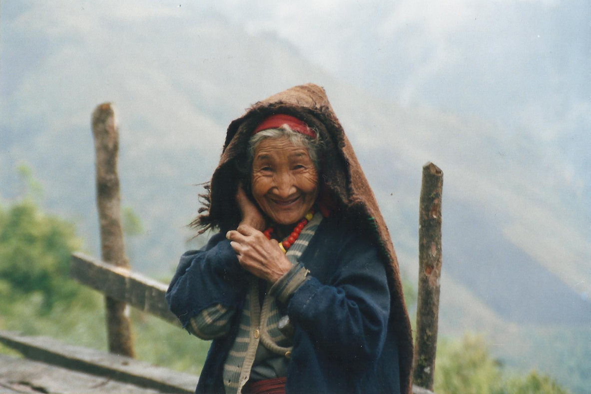 Old Lady Tamang Heritage Trail Trek trekking hike hiking nepal