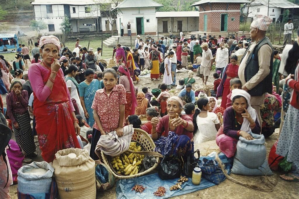 Market Tumlingtar Makalu Base Camp Trek Nepal Trekking Hike Hiking Himalayas