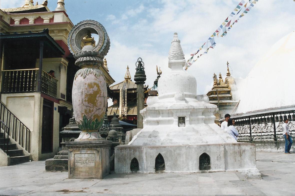 Swayambhunath Monkey Temple Kathmandu Nepal