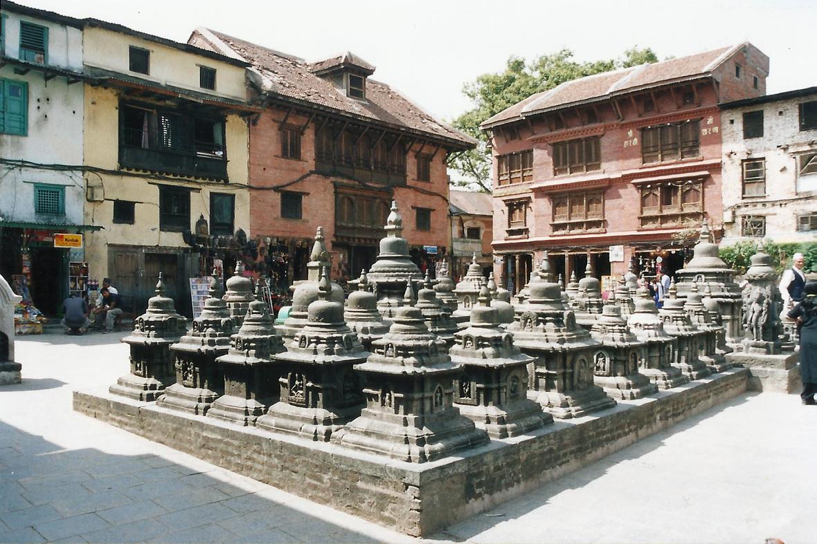 Chortens Stupas Kathmandu Nepal