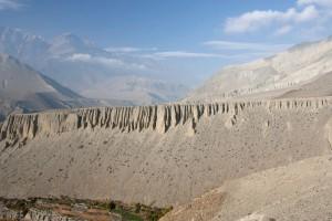 Towards Kali Gandaki Valley Annapurna Circuit Trek Trekking Hike Hiking Nepal