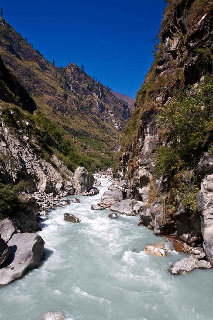 Budhi Gandaki River Manaslu Circuit Tsum Valley Trek Nepal Trekking Hike Hiking Himalayas