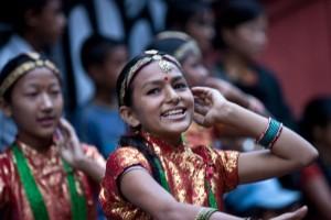 Ghalegaun Trek Cultural Show Dancing Nepal