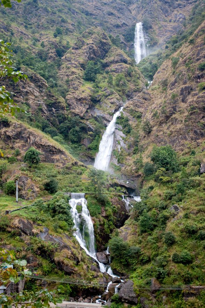 Stream Waterfalls Makalu Base Camp Trek Nepal Trekking Hike Hiking Himalayas