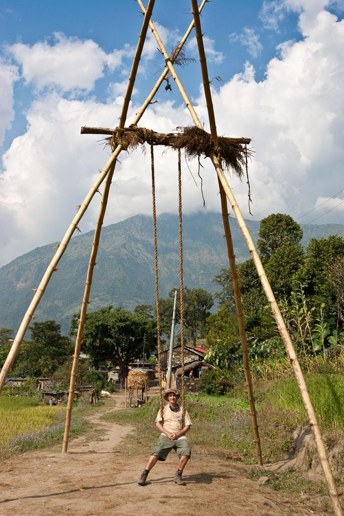 Giant Swing Makalu Base Camp Trek Nepal Trekking Hike Hiking Himalayas