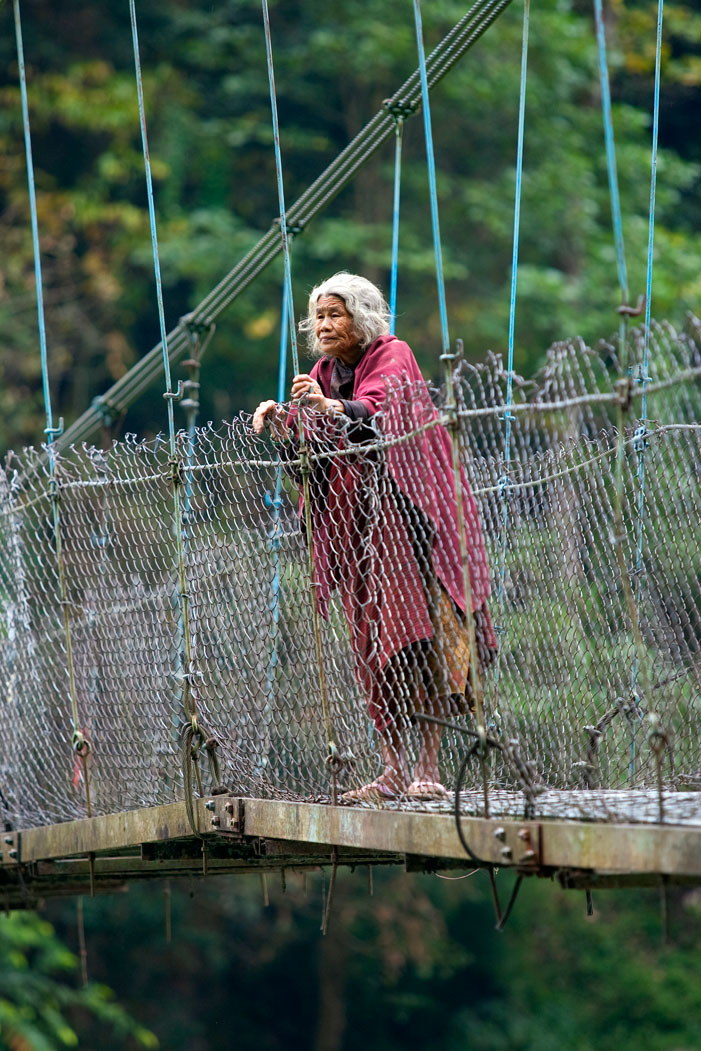 Old Lady Bridge Lower Inner Dolpo Trek Nepal Trekking Hike Hiking Himalayas