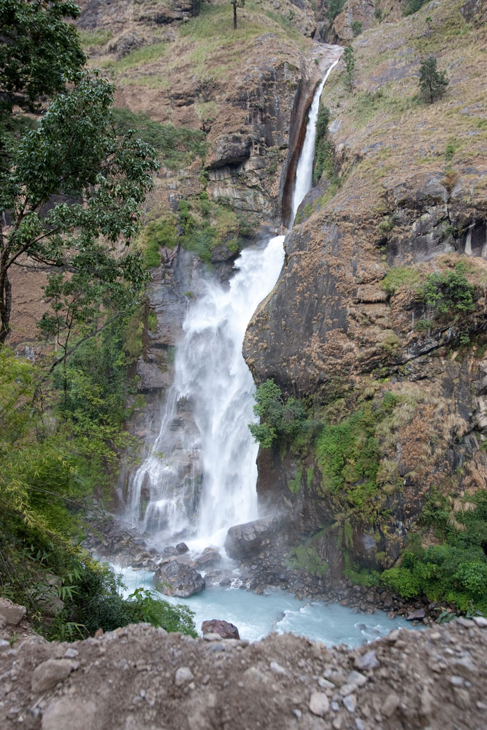 Waterfall Lower Inner Dolpo Trek Nepal Trekking Hike Hiking Himalayas