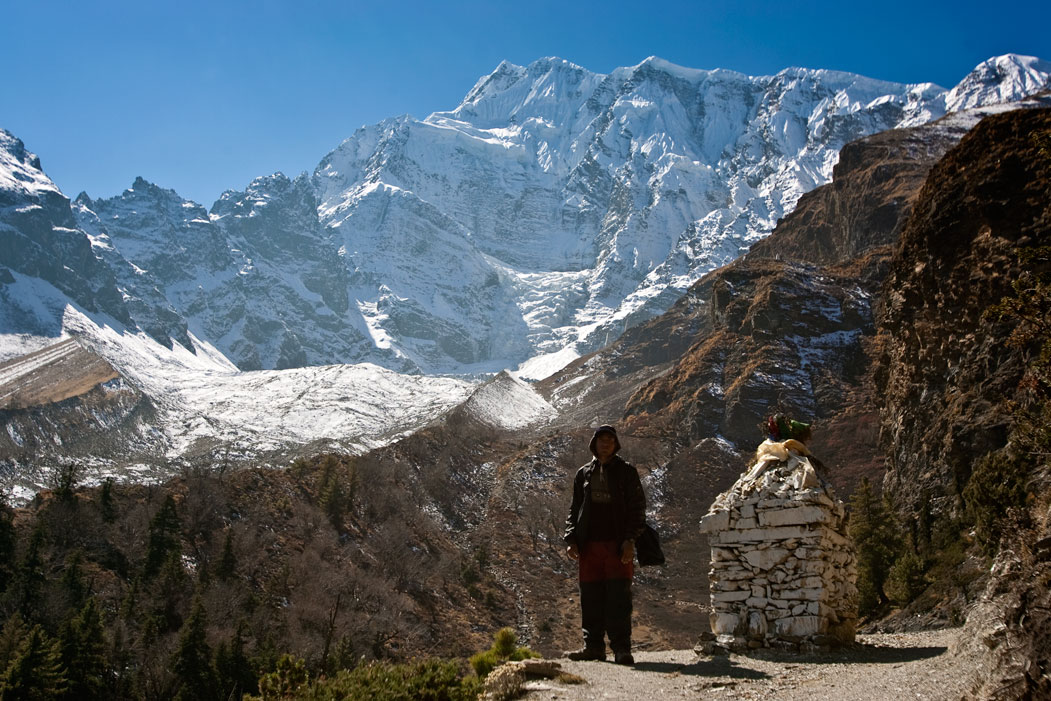 Man Mountain 3 Three Passes Trek Everest Base Camp EBC Trek Nepal Trekking Hike Hiking Khumbu Valley Himalayas