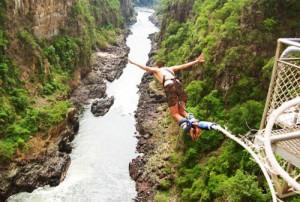 Bungee Jump Jumping Nepal Bhote Koshi Kosi Himalayas