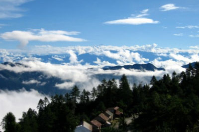 Daman Himalayas View Mountainscape Nepal Tourist Sites