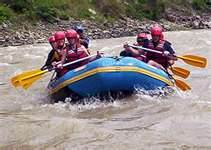 Rafting Seti River Kayaking Nepal Himalayas Raft Kayak Adventure Sports