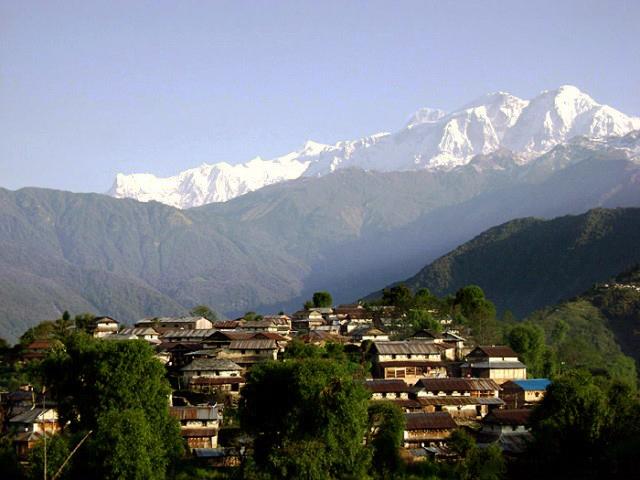 Ghalegaun Trek trekking hiking hike Nepal