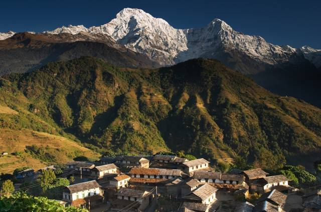 Ghandruk Trek trekking hike hiking nepal