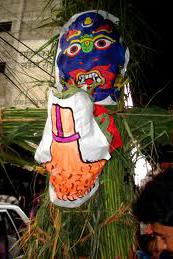 Ghanta Karna Chaturdasi Nepal Newar Pagan Religion Festival Festivals Religious Cultural Tourism