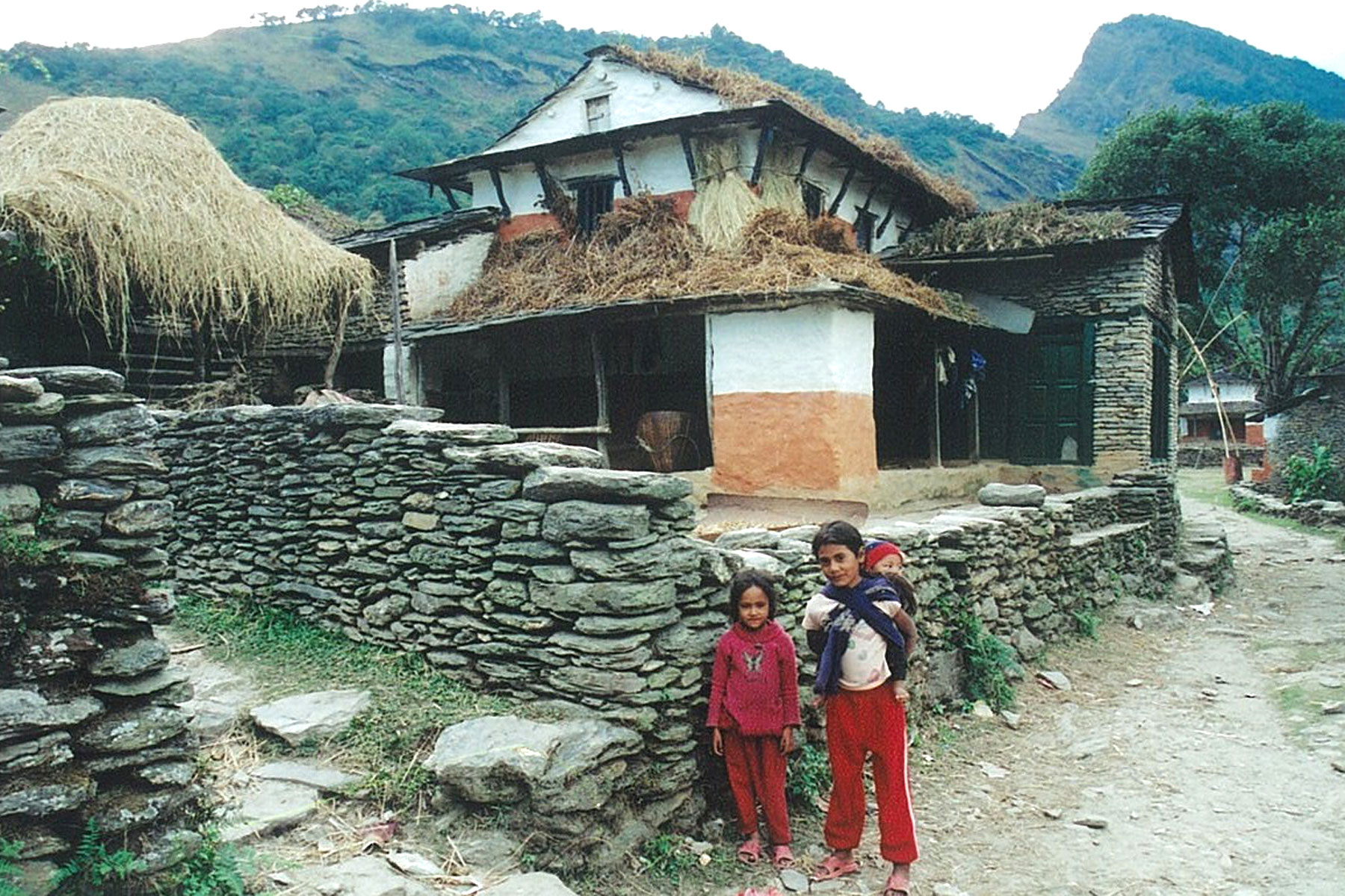 Village home Helambu Valley Trek trekking hike hiking nepal