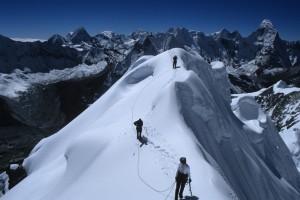 Island Trekking Peak Summit Nepal Trek Himalayas Hike Hiking