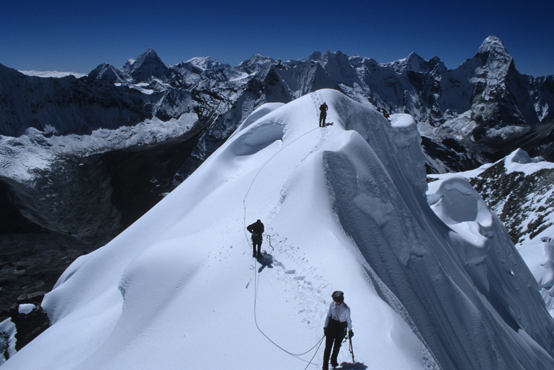 Island Trekking Peak Summit Nepal Trek Himalayas Hike Hiking