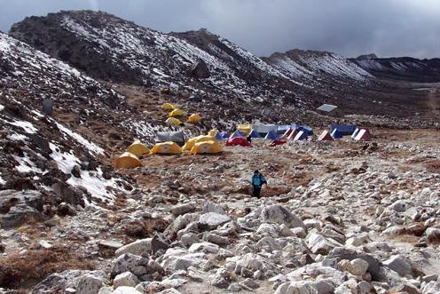 Island Base Camp Trekking Peak Nepal Trek Himalayas Hike Hiking