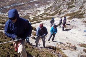 Island Trekking Peak Nepal Trek Himalayas Hike Hiking