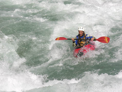 Kayaking Sun Kosi Koshi River Rafting Nepal Himalayas Raft Kayak Adventure Sports