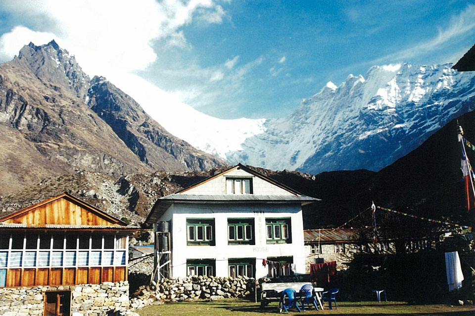 Kyanjin Gompa Guest House Langtang Valley Trek Trekking Hike Hiking Nepal