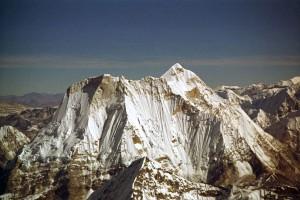 Menlungtse Mountain Flight Himalayas Nepal Tourist Airplane