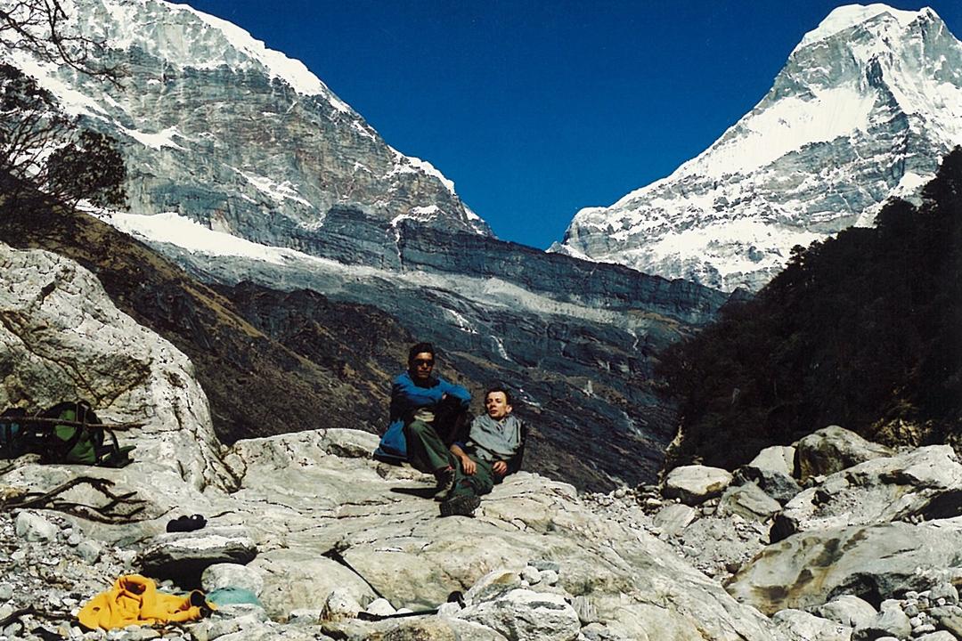 Guide Trekker Mera Trekking Peak Hinku Valley Trek Nepal Himalayas Hike Hiking