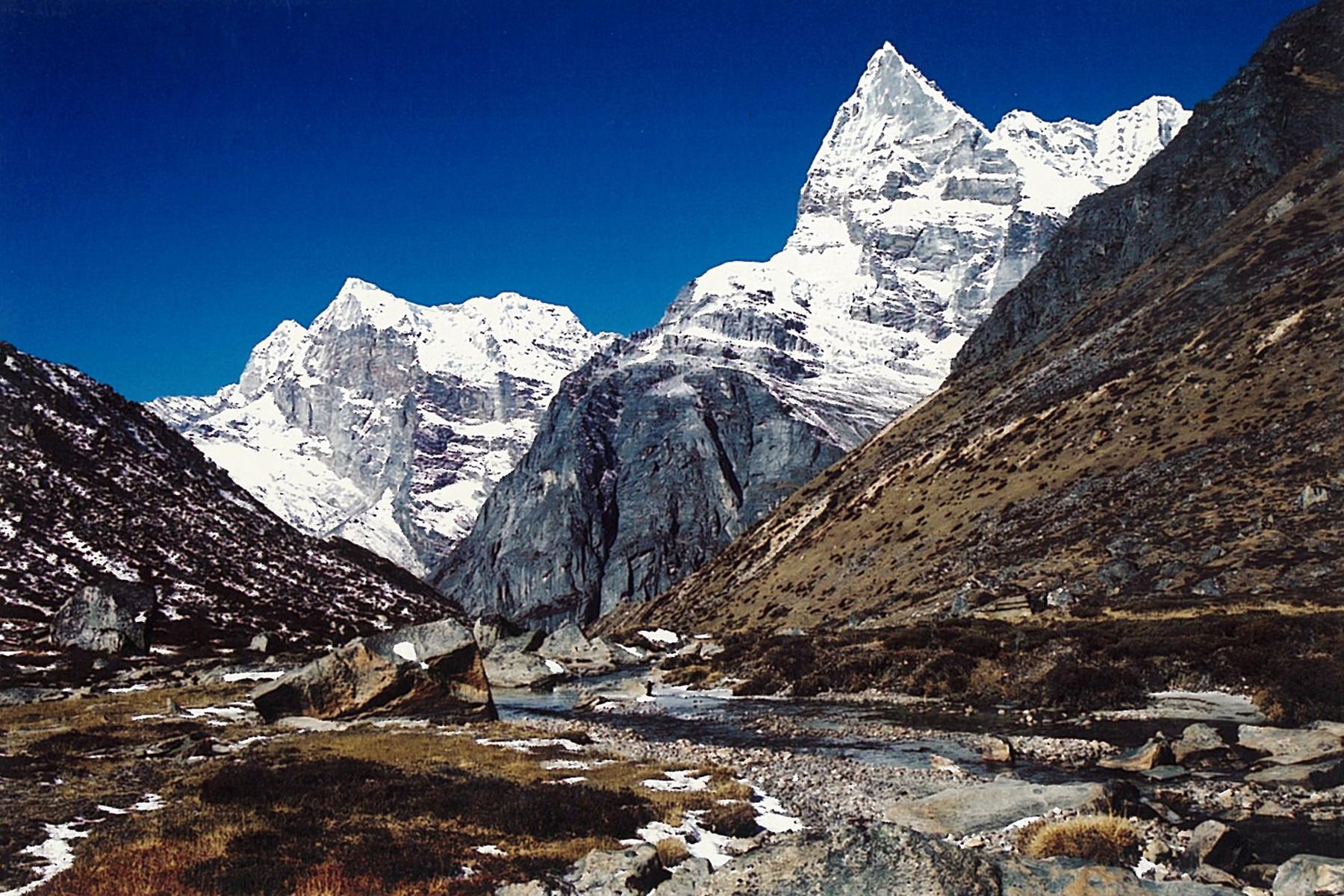 Upper Hinku Valley Mera Trekking Peak Trek Nepal Himalayas Hike Hiking