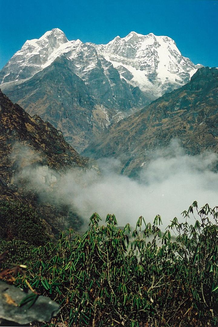 Mera Trekking Peak Hinku Valley View Trek Nepal Himalayas Hike Hiking