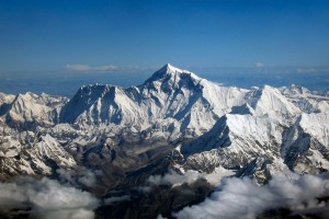 Everest Mountain Flight Himalayas Nepal Tourist Airplane Sagarmatha Chomolungma
