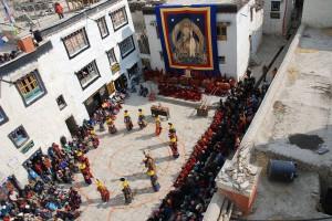 Teechi Festival Lo Manthang Upper Mustang Trek Trekking Hike Hiking Nepal