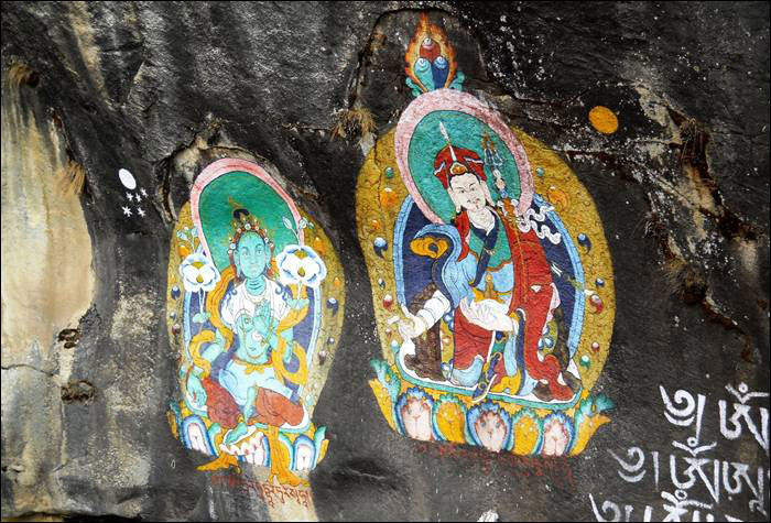 Cave Paintings Thame 3 Three Passes Trek Everest Base Camp EBC Trek Nepal Trekking Hike Hiking Himalayas