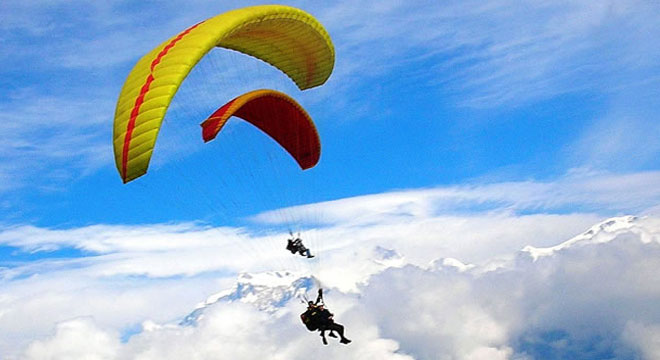 Paragliding Paraglide Pokhara Nepal Thermals Himalayas Adventure Sports