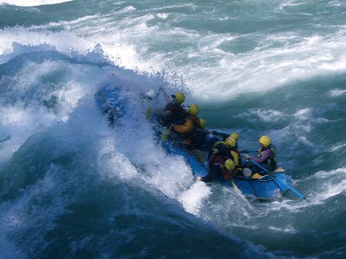 Rafting Bhote Khosi Kosi River Kayaking Nepal Himalayas Raft Kayak Adventure Sports