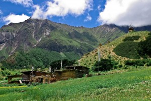Himalayan Farmhouse Meadow Upper Dolpo Trek Nepal Trekking Hike Hiking Himalayas