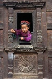 Child Tamang Heritage Trail Trek trekking hike hiking nepal
