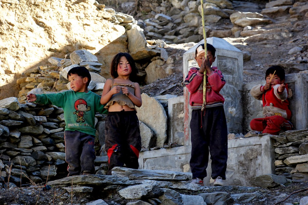 Children Everest Base Camp Trek EBC Trekking Hike Hiking Nepal