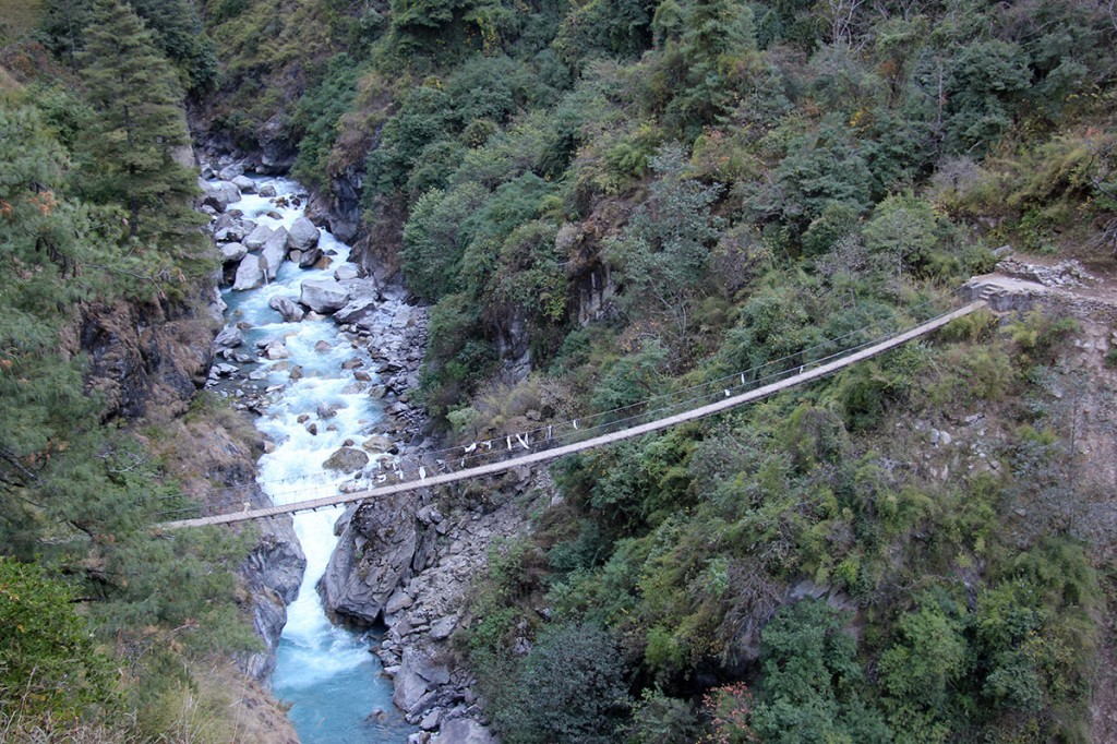 Bridge Panch Pokhari Trek Trekking Hike Hiking Nepal