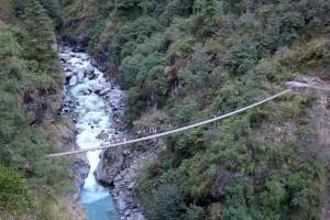 Bridge Panch Pokhari Trek Trekking Hike Hiking Nepal