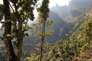 Suspension Bridge Tsum Valley Manaslu Circuit Trek Trekking Hike Hiking Nepal
