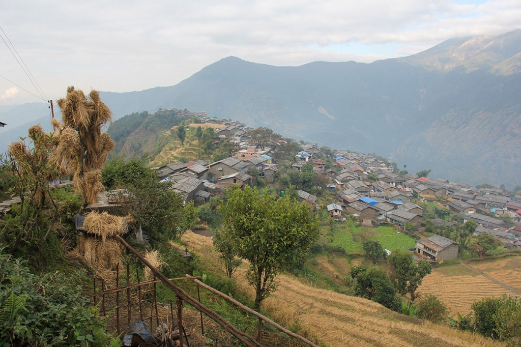 Hill Village Helambu Valley Trek trekking hike hiking nepal