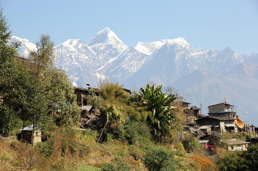 Ghalegaun Trek trekking hiking hike Ghanpokhara Nepal